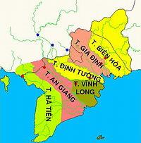 Lục tỉnh Nam Kỳ – Gia Định – Sài Gòn