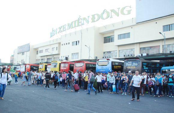 Các bến xe ở TP.HCM mở bán vé tết