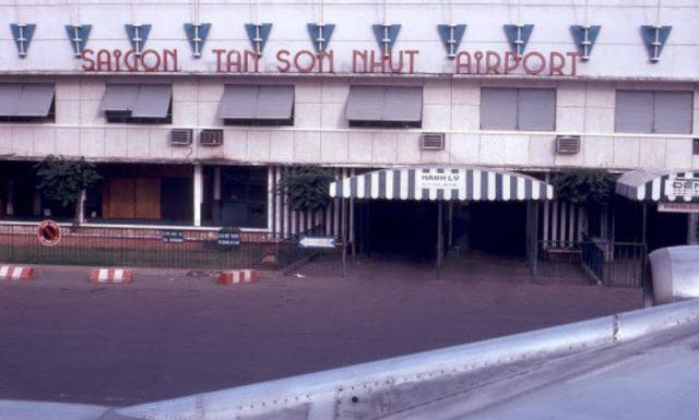 Phi trường Tân Sơn Nhứt xưa và sân bay Tân Sơn Nhất ngày nay.